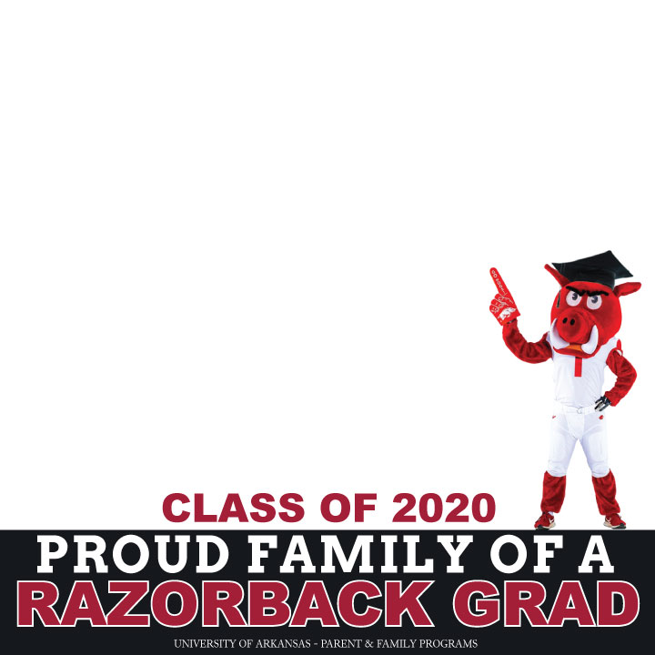 Big Red Graduation Profile Pic